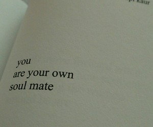 art, poetry, and soul mate image