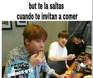 memes, bts, and memes en español image