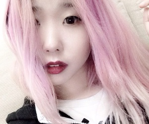 asian, aesthetic, and lilac image