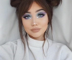 makeup and hair image