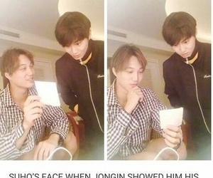 exo, jongin, and suho image