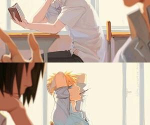 naruto, sasunaru, and anime image