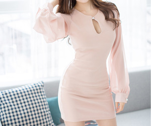 asian fashion, pink, and 유행 image
