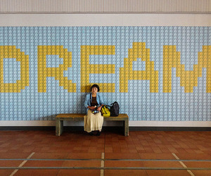 Dream, yellow, and aesthetic image