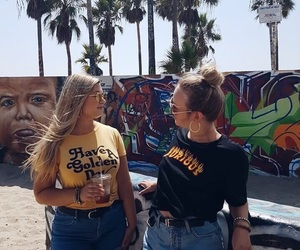 california, colors, and girls image