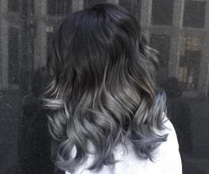hair, grey, and silver image