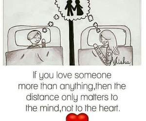 couple, distance, and Relationship image
