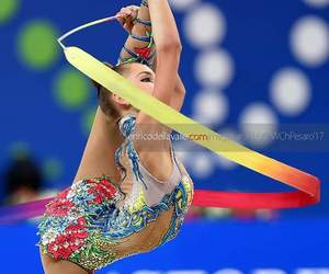 ribbon, rhytmic gymnastic, and averina image