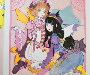 anime fanart, anime girls, and sakura tomoyo image