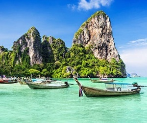 adventure, asia, and beauty image