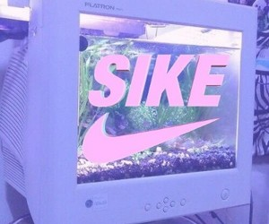 aesthetic, baby pink, and computer image