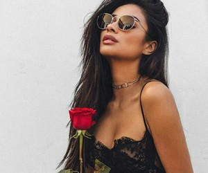 shay mitchell, rose, and pretty little liars image