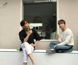 aesthetic, boys, and youngjae image