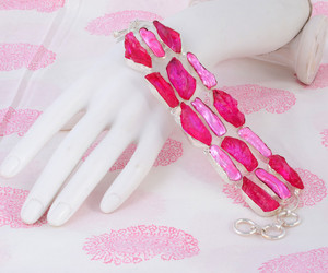 adorable, fine jewelry, and silver bracelet image