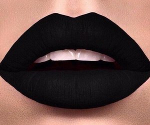 lips, black, and beautiful image