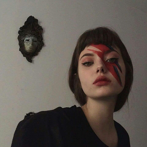 girl, bowie, and david bowie image