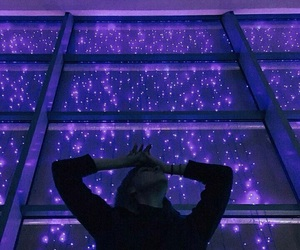 purple, light, and tumblr image