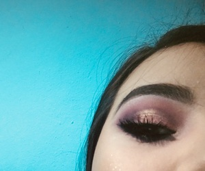 love it, purple, and makeup image