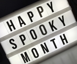 Halloween, light, and spooky image