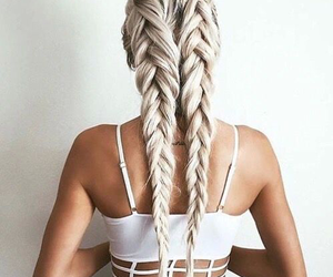 braids, hairs, and dresses image