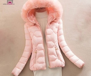 jacket, pink, and rosa image