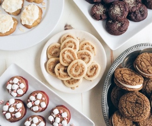 food, Cookies, and sweet image
