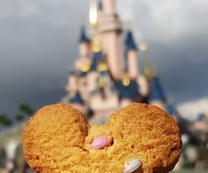 castle, cookie, and disney image