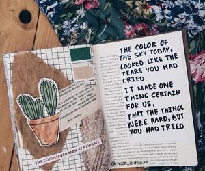 journal, art, and art journal image