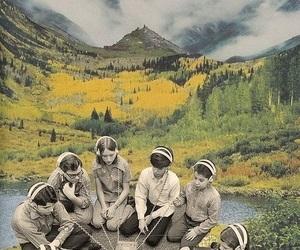 fun, kids, and mountains image