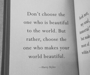 quotes and Harry Styles image