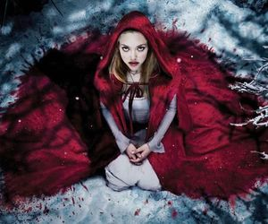 red riding hood, red, and amanda seyfried image