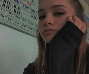 school, black, and tumblr image