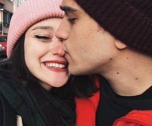 kiss, cute, and couple image