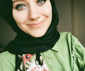 hijab, beautiful, and beauty image