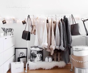 clothes, room, and decor image