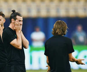 bale, football, and friendship image