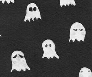 ghosts, Halloween, and wallpaper image