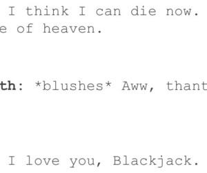blackjack, fandom, and funny image