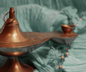 aladdin, genie, and jasmine image
