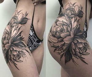 side and tattoo image