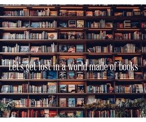 books, bookshelf, and Dream image