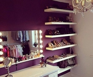 room, shoes, and bedroom image