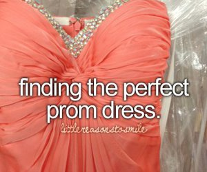 quote, dress, and Prom image