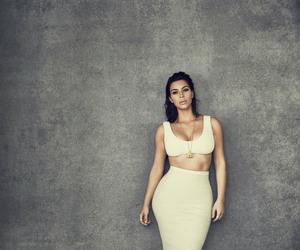 editorial, fashion, and kim kardashian image