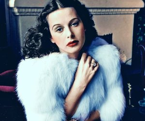 hedy lamarr and vintage image
