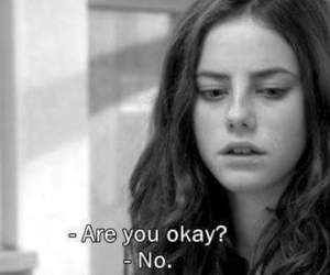 skins, sad, and Effy image