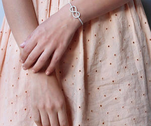 etsy, cuff bracelet, and tennis bracelet image