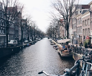amsterdam and water image