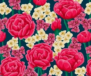 background, pink, and pink flowers image