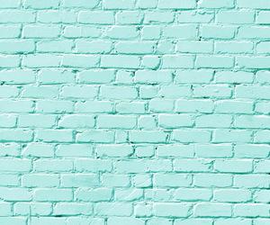 blue, bricks, and pastel image
